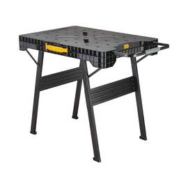 DeWALT® Express Folding Workbench, 4 in Width, 23 in Height, 1000 lb Load, Cast Polymers/Metal/Plastic, Black/Yellow