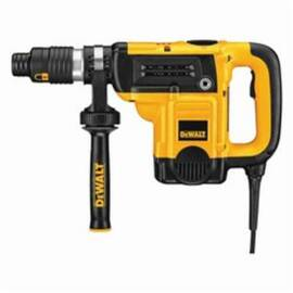 DeWalt® D25553K Combination High Performance Industrial Grade Rotary Hammer Kit, 1-9/16 In Keyless/Spline Chuck, 0 To 3300 Bpm, 0 To 490 RPM No-Load, 18.6 In OAL