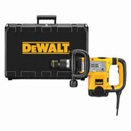 DeWalt® D25831K Corded Demolition Hammer Kit With Shocks™ Vibration Control, 3/4 In Chuck, 1430 To 2840 Bpm, 120 Vac