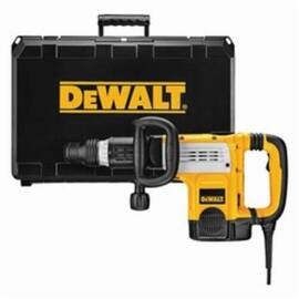 DeWalt® D25891K Corded Demolition Hammer Kit With Shocks™ Vibration Control, 3/4 In Chuck, 1152 To 2304 Bpm, 120 Vac