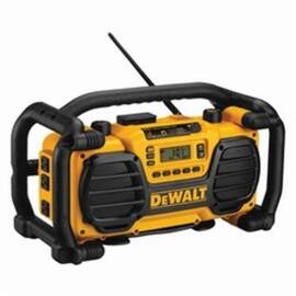 DeWalt® Xrp™ Dc012 Heavy Duty Cordless Worksite Radio With Charger, 7.2 To 18 Vdc, Lithium-Ion/Nicd Battery