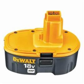 DeWalt® Xrp™ Dc9096 Rechargeable Cordless Battery Pack, 2.4 Ah Nicd Battery, 18 Vdc, For Use With DeWalt® 18 V Tools And Accessories