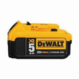 DeWalt® Dcb205 Xr® Premium Rechargeable Cordless Battery Pack, 5 Ah Lithium-Ion Battery, For Use With DeWalt® 20 V Power Tool