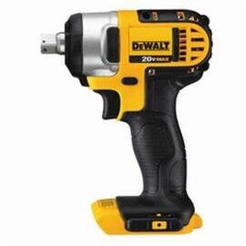 DeWalt® DCF880B High Performance Cordless Impact Wrench With Hog Ring Anvil, 1/2 In Square Drive, 2700 Bpm, 150 Ft-Lb, 20 Vdc, 5-3/4 In OAL