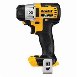 DeWalt® DCF895B 20V Max* Brushless High Performance Cordless Impact Driver, 1/4 In Hex Drive, 3300 Bpm, 1500/900/500 In-Lb Torque, 20 Vac
