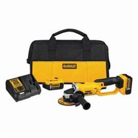 DeWalt® Dcg412P2 Xr® Cordless Cut-Off Tool Kit, 4-1/2 In Dia Wheel, 5/8 In Arbor/Shank, 18 Vdc, Lithium-Ion Battery, 2 Batteries, Trigger Switch