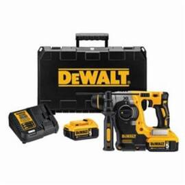 DeWalt® 20V Max* Dch273P2 Xr™ High Performance Cordless Rotary Hammer Kit, 1 In Sds Plus Chuck, 20 Vac, 0 To 1100 RPM No-Load, Lithium-Ion Battery