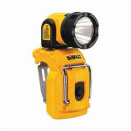 DeWalt® DCL510 Rechargeable Worklight With Kick Stand And Pivoting Head, Led Bulb, Polypropylene Housing, 130 Lumens