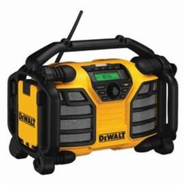 DeWalt® Dcr015 Rechargeable Cordless Worksite Charger Radio, 12 V, Lithium-Ion Battery