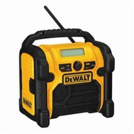 DeWalt® Dcr018 Heavy Duty Cordless Worksite Radio, 12/18/20 Vdc, Lithium-Ion/Nicd Battery