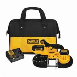 DeWalt® 20V Max* Dcs371P1 Cordless Band Saw Kit, 2-1/2 In Cutting, 32-7/8 In L Blade, 20 Vac, 5 Ah Lithium-Ion Battery