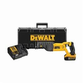 DeWalt® 20V Max* Dcs380P1 Cordless Reciprocating Saw Kit, 1-1/8 In L Stroke, 0 To 3000 SPM, Orbital Cutting, 20 Vdc, 18 In OAL