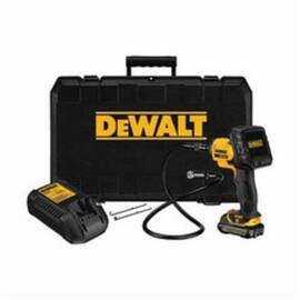 DeWalt® DCT410S1 Inspection Camera Kit With Wireless Screen Kit, 17 mm Dia X 3 Ft L Probe, Plastic, Black/Yellow