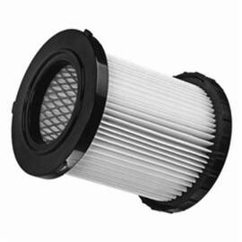 DeWalt® Dcv5801H Reusable Wet/Dry Vacuum Replacement Hepa Filter, 4-61/64 In H X 4-61/64 In W X 4-13/16 In D, Plastic, For Use With Dcv580 And Dcv581H Wet/Dry Vacuum