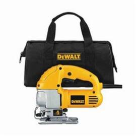 DeWalt® Dw317K 4-Position Orbital Compact Jig Saw Kit, 1 In Cutting, 45 Deg Bevel, 120 Vac