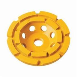 DeWalt® Xp™ DW4777 General Purpose Cup Wheel, 5 In Dia, 5/8-11, 2 Rows