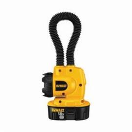 DeWalt® DW919 Heavy Duty Cordless Floodlight, Xenon, 14.4 Vdc, Upto 8 Hr Run-Time Nicd Battery