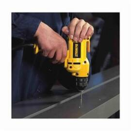 DeWalt® Dwd115K Mid-Handle Drill Kit With Keyless Chuck, 3/8 In Keyless Chuck, 120 Vac, 0 To 2500 RPM, 12-3/4 In OAL