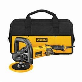 DeWalt® DWp849X Spindle Lock Variable Speed Polisher With Soft Start, Bare Tool, 7 In, 9 In Pad