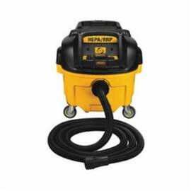 DeWalt® DWv010 Wet/Dry Corded Dust Extractor With Automatic Filter Clean, 8 Gal, 15 A, 120 Vac