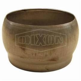 Dixon® Quick Connect Fitting, Type B, Fitting/Connector Type: Quick Connector, 12 in Nominal, Male Weld-On, Steel, Unplated, Domestic/Import: Domestic