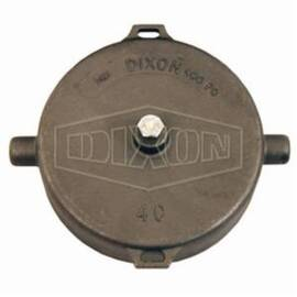 Dixon® Pipe Cap, Fitting/Connector Type: Cap, 4 in Nominal Size, NPSM, Stainless Steel, 5-21/32 in L x 6-11/32 in H, Domestic