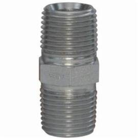 Dixon® Pipe Nipple, 1-11-1/2 x 3/4-14 Nominal, MNPT, 2000 psi, Steel, Zinc Plated, Domestic