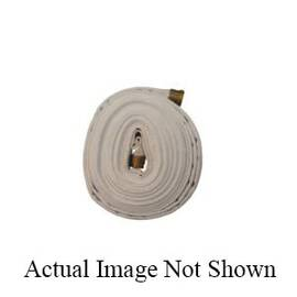 Dixon® Fire Hose, Single Jacket, 1-1/2 in Nominal, NPSH, 75 ft Length, 225 psi Working, Polyester