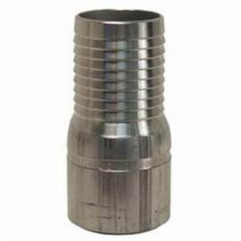 Dixon® The Right Connection  King Combination Nipple, 1-1/4 in Nominal, Hose Barb x Beveled End, Aluminum, Domestic