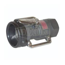 Dixon® Dry Disconnect Coupling, Bayonet, Fitting/Connector Type: Coupler, 3 in Nominal Size, Straight Swivel Coupler x FNPT, 85 psi, Aluminum, Domestic