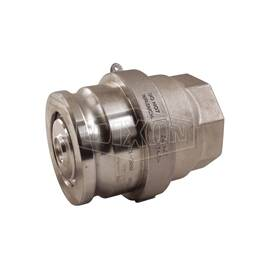 Dixon® Bayloc  Cam and Groove Coupler, Dry Disconnect, Fitting/Connector Type: Coupler, 4 x 3 in Nominal Size, Coupler x FNPT, 120 psi, 70 deg F, Aluminum