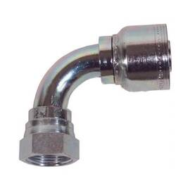 Dixon® Hose-to-Tube Fitting, Smooth Bore, Fitting, Dash 16 x 1 in Nominal, Hose x FJIC, Carbon Steel