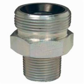 Dixon® Gm3 Boss™ Ground Joint Spud, 1/2 In, MNPT, Steel, Domestic