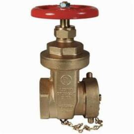 Dixon® Gwdgv250F Global Gate Valve, 2-1/2 In, FNPT X MNST, Cast Dzr Brass Body, Iron Handwheel Actuator