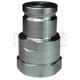 Snap-Tite by Dixon® Pipe Plug, Interchange, Series: ST Series, 1-11-1/2 Nominal, FNPT, 1-7/8 in Hex, 3.22 in Length, 4000 psi, -40 to 250 deg F, 316 Stainless Steel, 2.1 in OD, Domestic