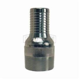 Dixon® Combination Nipple, Series: Jump Size King , 2 x 1-1/2 in Nominal, NPT x Hose Shank, 4-5/8 in Length, Carbon Steel, Zinc Plated, 1-17/32 in Dia, Domestic