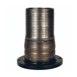 Dixon® The Right Connection  King Combination Nipple, Crimp, 4 x 6-5/8 in Nominal, Hose Barb x TTMA Flange, 8-1/32 in Length, Carbon Steel, Domestic