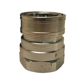Snap-Tite by Dixon® Quick Connect Coupling, Interchange Valved, Series: H Series, 3/8-18 Nominal, FNPT, 4500 psi, Steel, Domestic