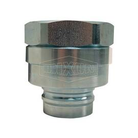 Snap-Tite by Dixon® Quick Connect Plug, Interchange Valved, Series: H Series, 2-11-1/2 Nominal, FNPT, 1500 psi, Steel, Domestic