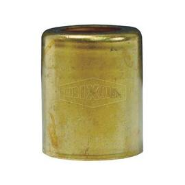 Dixon® Ferrule, Series: BFM, 1/2 in Nominal Size, Tube, 1 in Length, 1/2 in Hole Dia, Brass, Domestic
