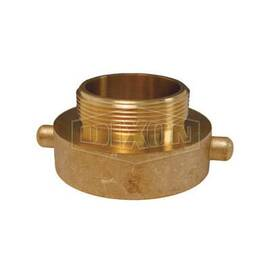 Dixon® Pin Lug Hydrant Adapter, Fitting/Connector Type: Adapter, 2-1/2 x 2 in Nominal Size, Female NST x MNPT, 2 in Length