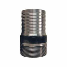 Dixon® St40 King™ Combination Nipple, 4 In Hose Shank X MNPT, Carbon Steel, Unplated, Domestic