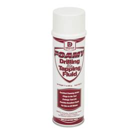 DRILLCO TDF-20 HEAVY DUTY DRILLING AND TAPPING FOAMY SPRAY, 20 OZ AEROSOL CAN, SLIGHT PETROLEUM, LIQUID, CLEAR