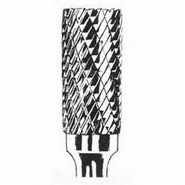 Dynabrade® DynaBurr Carbide Burr, 1/4 in Head Dia, 5/8 in Length of Cut, Cylindrical-No End Cut (Shape SA) Head Shape, Double Cut Type, 1/4 in Shank Dia, Carbide Head, Applicable Materials: Metals, SA-1 Industry Specification