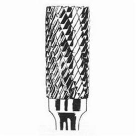 Dynabrade® DynaBurr Carbide Burr, 3/8 in Head Dia, 3/4 in Length of Cut, Cylindrical-No End Cut (Shape SA) Head Shape, Double Cut Type, 1/4 in Shank Dia, Carbide Head, Applicable Materials: Metals, SA-3 Industry Specification