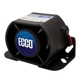 ECCO® 630N 600 Self-ADJusting Back-Up Alarm, 12 To 36 VDC, 1.2 A, 107 dB