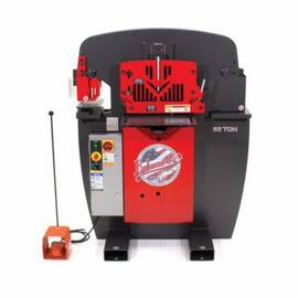 EDWARDS® Coper Notcher, 2-1/2 x 4 x 5/16 in Maximum Notching Dimensions, 1-1/4 in Stroke, 5 hp, 3-Phase, 208/230 V, 1725 rpm, 14 A Power Type