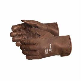 ENDURA® 378DPKGLL DRIVER CUT RESISTANT GLOVES, L, DOUBLE LAYER GOATSKIN LEATHER/OILBLOC™, KNIT WRIST/SLIP-ON CUFF, RESISTS: CUT, PUNCTURE, OIL AND WATER, ANSI CUT-RESISTANCE LEVEL: A4, ANSI PUNCTURE-RESISTANCE LEVEL: 3