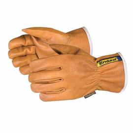 ENDURA® 378GOBTKLL DRIVER WINTER CUT RESISTANT GLOVES, L, GOATSKIN GRAIN LEATHER/OILBLOC™, RESISTS: CUT AND PUNCTURE, ANSI CUT-RESISTANCE LEVEL: A4, ANSI PUNCTURE-RESISTANCE LEVEL: 4