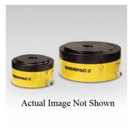 Enerpac® Lock Nut Cylinder, Pancake Single Acting, Series: CLP, 250 ton, 1.77 in Stroke, 10000 Psi, Steel Housing, Synthetic Coated